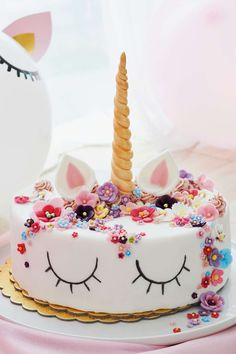 Easy Desserts, Dessert Recipes, Cake Factory, Cake Decorating Videos, Sweets Cake, Happy Birthday Cakes, Party Snacks, Party Cakes, Kids Meals