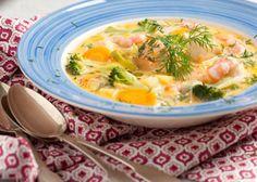 Den här soppan både ser lyxig ut och smakar som en måltid på en bättre restaurang och är ändå så enkel att tillaga!
