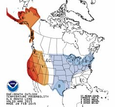 March outlook: Colder and snowier than normal weather favored - The Washington Post