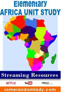 Elementary Africa Unit Study, African Continent Unit Lesson Plans, Kindergarten, primary, elementary grades, Aligned with Build Your Library Kindergarten Around the World Curriculum, #unitplans #unitstudy #lessonplans #aroundtheworld #buildyourlibrary #byl #bylk #kindergarten #homeschool #elementaryeducation #streaming #netflix #youtube #playlist #playlists #amazonprime