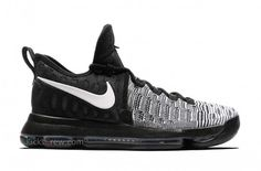 The Nike KD 9 Black White Drops Next Weekend on http://SneakersCartel.com | #sneakers #shoes #kicks #jordan #lebron #nba #nike #adidas #reebok #airjordan #sneakerhead #fashion #sneakerscartel
