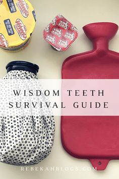 Getting your wisdom teeth out can be awful! I gathered a few things I learned (from experience) and put them in this post! It was hard to find a lot of info online about what works well! Wisdom Teeth Ice Pack, Food After Wisdom Teeth, After Wisdom Teeth Removal, Wisdom Teeth Funny, Inspirational Artwork, Getting Wisdom Teeth Pulled, Teeth Surgery, Dental Surgery, Dental Implants