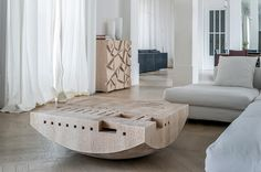 Coffee table Blocco Galla