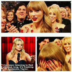 The fact that Miranda gave Taylor a shout out on her new album is so amazing. Shows what kind of person she is