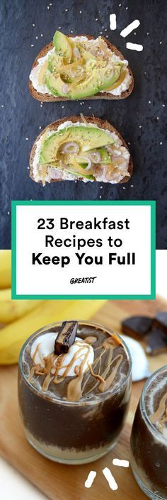 Spoiler alert: They're not all eggs. #highprotein #breakfast #recipes http://greatist.com/eat/high-protein-breakfasts-healthy-recipe-ideas