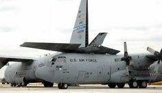 USAF C-130 air national guard aircraft collide on runway