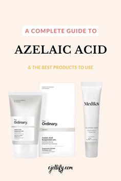 The Ordinary Products, The Ordinary Skincare, The Ordinary Azelaic Acid, Acne Rosacea, Pca Skin, Acne Spot Treatment, Acne Spots, Skin Routine, Glycolic Acid