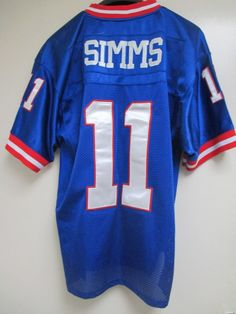 Mitchell & Ness New York Giants Phil Simms Jersey Size 54 Throwbacks Authentics New York Giants Logo, New York Giants Football, Phil Simms, Nfl Jerseys, Nike Men, Funny, Quotes, Tops, Art
