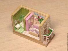 Hecho a mano en miniatura.  Solicitar Thumbnail 1: 144 Rumboks dormitorio .. Mir miniatyury.  Masters Feria.  1-144, madera