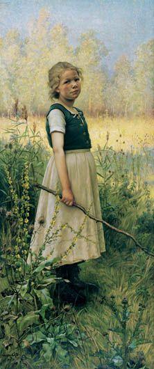 Marc-Aurèle de Foy Suzor-Coté Arthabaska, Quebec, 1869 – Daytona Beach, Florida, 1937 Shepherdess at Vallangoujard (Seine-et-Oise) 1898 Museum of Fine Arts, Montreal.
