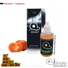 Mandarin-Tangerina Qismoke 30ml Óleo de fumo 2ª geração