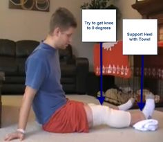 5 ACL Surgery Recovery Exercises That Will Restore Full Range of Motion | ACL…