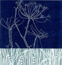 SOLD - monotype & woodblock 150 x - Janet Dickson Linocut Prints, Art Prints, Gelli Plate Printing, Country Art, Screen Printing, Floral Prints, Blade, Drawings, Painting