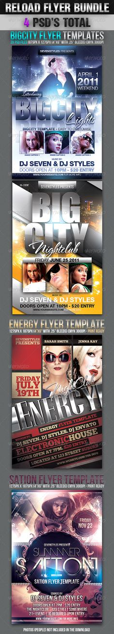 Silver Force Flyer Template Flyer template, Psd templates and - contemporary flyer
