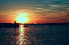 Fenelon Falls sunset, Kawartha Lakes Region, Ontario Canada