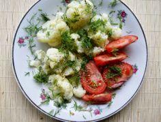 Zdrowa Kuchnia Sowy: Kalafior na parze z masłem czosnkowym - pycha!