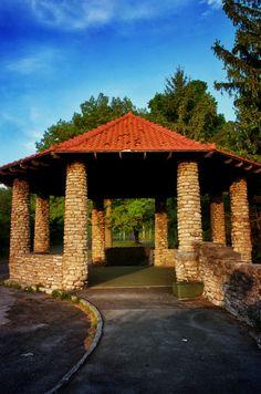 Sunrise Gazebo - Thompson Park in Watertown, New York - Upstate New York
