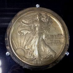 Adolph A. Weinman's pattern for Walking Liberty Obverse @USMint