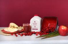 #aloe combined with cranberries for a delicious and nutritious beverage :)