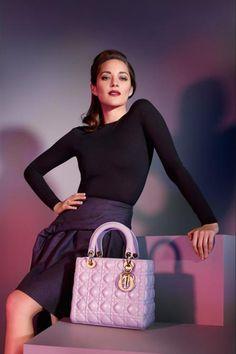 Beautifully feminine Lady Dior handbag 2013 <3