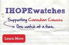 IHOPE Shop offers colourful and interchangeable watches that support Canadian Causes.