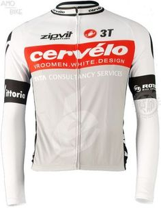 CERVELO 3T ZIPVIT GRAY LONG SLEEVE CYCLING JERSEY BIKE SHIRT RACING size S-3XL