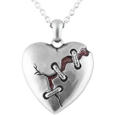 Controse Jewelry Cure For A Broken Heart Necklace