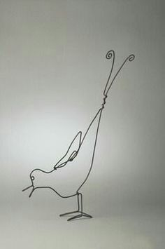 "Alexander Calder ""The Early Bird"" 1954"
