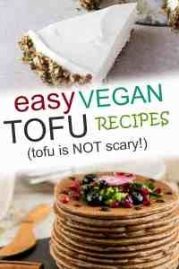 When you are looking for vegan tofu recipes, these easy, healthy options are perfect for dinners, breakfast, lunch, snacks, and desserts! These are the best ideas for simple meals that show you: Tofu is NOT scary! Best Vegan Recipes, Tofu Recipes, Avocado Recipes, Cooking Recipes, Dinner Recipes, Lunch Snacks, Vegan Snacks, Vegan Dinners, Vegetarian Desserts