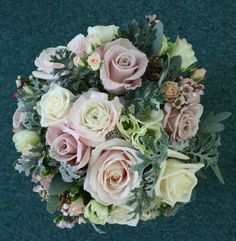 Bespoke wedding bouquets and bridal flowers created by Gravesend florist. Vintage styled custom wedding invitations and styling serving Gravesend and Kent. Pink And White Weddings, White Wedding Bouquets, Flower Bouquet Wedding, Bouquet Flowers, Winter Pastels, Pastel Bouquet, Pink Petals, Bridal Flowers, Custom Wedding Invitations