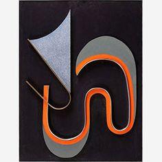 1987 - Domela, César -Relief 293 - 100x75cm