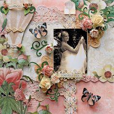 Forever & Ever **SCRAPS OF ELEGANCE** October Kit-Dreams of You - Scrapbook.com