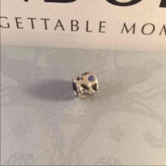 Pandora Blue Pond Authentic in pristine like new condition. Rare retired and just beautiful. Pandora Jewelry Bracelets