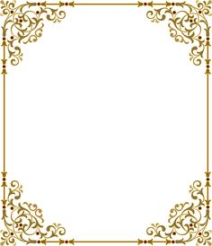 Яндекс.Фотки Borders For Paper, Borders And Frames, Printable Frames, Frame Background, Frame Clipart, Gold Wedding Invitations, Floral Border, Border Design, Vintage Labels