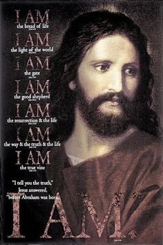 "I tell you the truth,"" Jesus answered, ""before Abraham was born, I am! Prophet Quotes, Jesus Quotes, Bible Quotes, Bible Verses, Scriptures, Jesus Face, God Jesus, True Vine, Biblia Online"