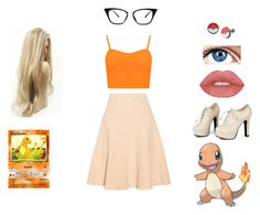 """Charmander"" by kimberly-pera ❤ liked on Polyvore featuring Jonathan Simkhai, WearAll and Sidewalk"