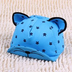 Kids Cartoon Baseball Caps,Suma-ma Baby Boy Girls Pearl Bowknot Hat Summer Cute Casual Sports Hats