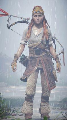 Dnd Characters, Female Characters, V Games, Video Games, Horizon Zero Dawn Cosplay, Horizon Zero Dawn Aloy, Gaming Center, Legend Of Zelda Breath, Samurai Art