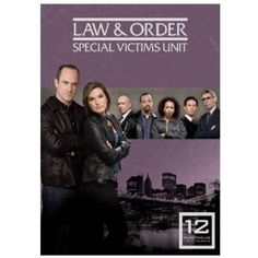 Law and Order SVU season 12 DVD boxset on Amazon - the last season with Chris Meloni aka Elliot Stabler