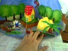 pop-up book 7 - YouTube