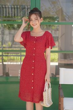 Floral Print Flutter Sleeve Lace-Up Bodycon Dress Form-fitting dress with lacing and floral print Simple Dresses, Cute Dresses, Beautiful Dresses, Casual Dresses, Dresses Dresses, Floral Dresses, Dress Outfits, Fashion Dresses, Lace Up Bodycon Dress
