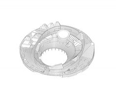 House of Hungarian Music competition proposal by LETH & GORI