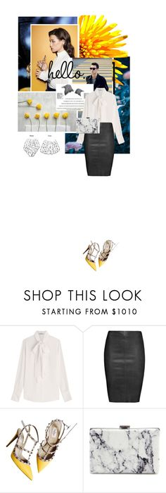 """""""The 7th Sense - CCC"""" by the-greatest-love ❤ liked on Polyvore featuring FRIDA, Valentino, Jitrois and Balenciaga"""