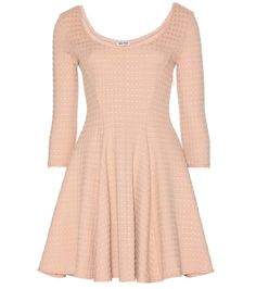 MIU MIU Knitted Jacquard Dress. #miumiu #cloth #dresses