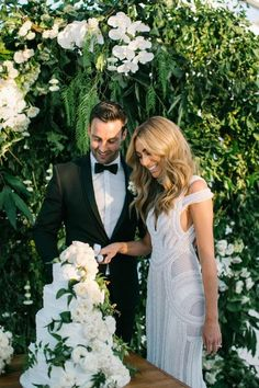 BRIDE'S DRESS: I was lucky enough to have two dresses from J'Aton. It was an easy choice to go with the boys as I have long admired their wo...