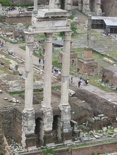 Roman Forum, Rome - felt like I was walking in history!