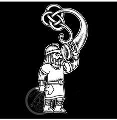 Pagan Tattoo, Norse Tattoo, Viking Tattoos, Viking Symbols, Viking Art, Norse Mythology Tattoo, Scandinavian Tattoo, Hand Poked Tattoo, Vikings