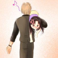 Adorable! Masumi and Maya