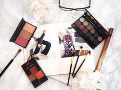 Sleek make-up flat lay