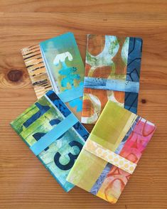 """Jennifer Love's Instagram photo: """"These collaged Moleskin journals are heading up to the shop at Fibreworks Gallery in Pender Harbour today. Each one is unique. Collage on…"""" Picnic Blanket, Outdoor Blanket, Gelli Plate Printing, Jennifer Love, Heads Up, Moleskine, Journals, Collage, Gallery"""